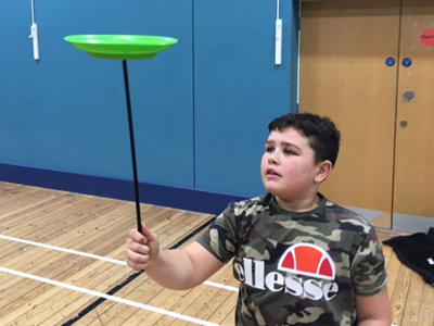 Circus Skills at St Martins Community Centre