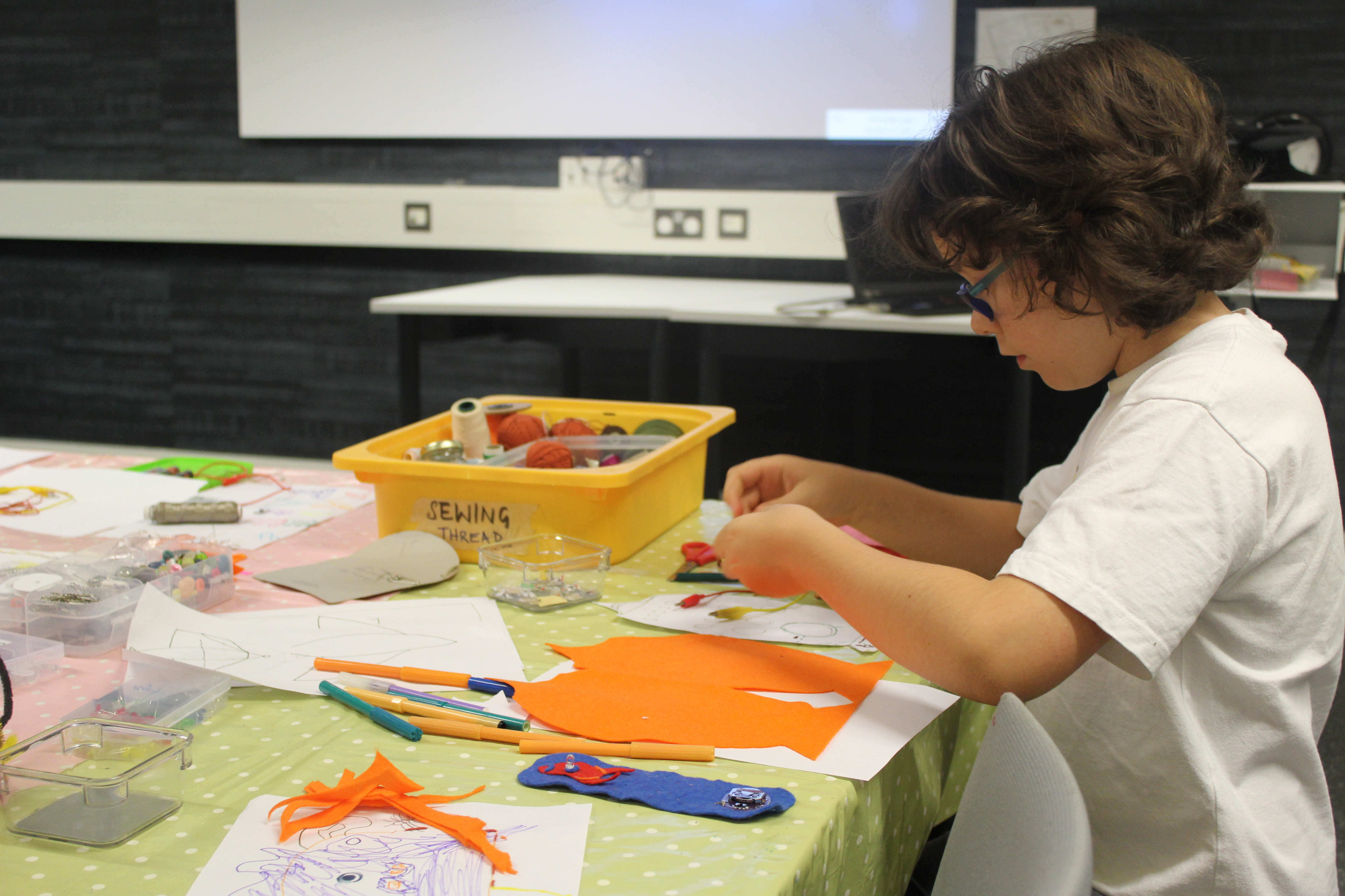 Upcoming: KidsQUAD - Creative activities for children aged 7-11, without grown-ups!